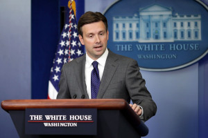 FILE: Josh Earnest To Succeed Jay Carney as WH Press Secretary